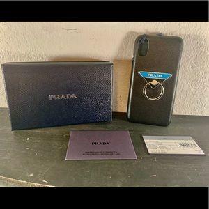 Prada IPhone Case, NWT, fits Apple iPhone 10